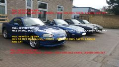 MAZDA MX5 / EUNOS - MK1 or 2 - FULL SERVICE